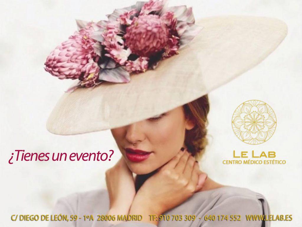 Tratamientos de belleza para eventos en Madrid
